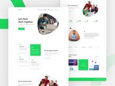 Hey Friends, Here is my new trendy agency landing page concept. I tried to make it fully fresh and clean and eventually I have done. Hope you guys will accept my concept. Watch attachment and don. Web Design Jobs, Clean Web Design, Web Design Quotes, Web Design Agency, Web Design Services, Web Design Trends, Web Design Company, App Design, Report Design
