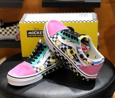 1ad3b15b61c0cd New Womens VANS DISNEY Mickey Old Skool School PINK VN0A38G1UJE Authentic   fashion  clothing  shoes  accessories  womensshoes  athleticshoes (ebay  link)