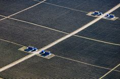 Solar Panels at Lechlingsfeld, Bavaria, Germany - photo by Klaus Leidorf