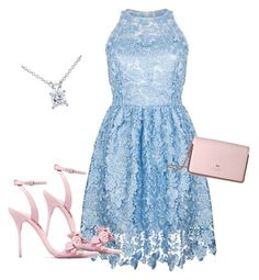 """""""Baby Blue Diamond"""" by indiemess1 ❤ liked on Polyvore featuring Ukulele, Sophia Webster, Ted Baker and Annello"""