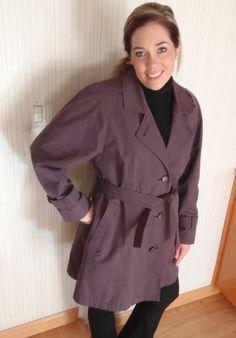 London Fog 10R Womens in Lavender Raincoat by FeistyFarmersWife, $35.00