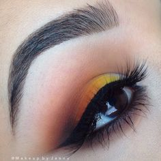 Colorful sunset look