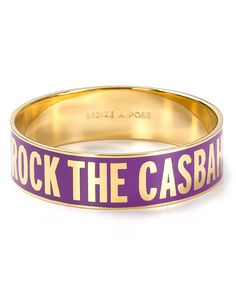 Rock the Casbah idiom bangle