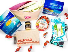 Signature Period Kit - Trust HelloFlo to care for all your ovulation needs with this menstrual care package. Get the Best From the Best, You and Your Body Deserve to be Taken Care of! HelloFlo