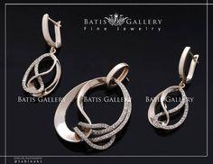 Luxe Brilliant Set Earring & Pendant Gold Price ~ 4/300 million Code : N 480