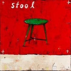 stool by Mary Scrimgeour Studios Children's Book Illustration, Illustrations, Art Studies, Whimsical Art, Park City, Beautiful Paintings, Love Art, Artsy Fartsy, Paper Art
