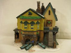 Dept 56 Dickens' Village Series The Grapes Inn 5th Edition 1996 ~ UNOPENED