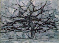 Nel 1911, quando lo dipinse, Mondrian non era uno studente di belle arti o un esordiente alle prime armi. Aveva anzi già dipinto un centinaio di opere. Paesaggi, per lo piú. Era già stato influenzato dall'impressionismo, dal divisionismo, dal fauvismo, e anche dal suo connazionale piú celebre della generazione precedente, Van Gogh.