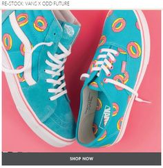 Vans & Odd Future Collab Limited Stock - Now's Your Chance to Grab a Pair! Buy Now !