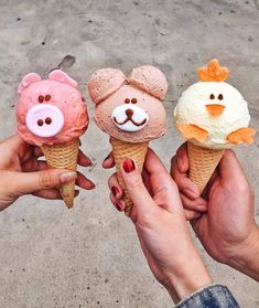 20 imágenes que alegrarán tu día - food for kids - Helados Ideas Gelato, Cute Food, Yummy Food, Tara Milk Tea, Comida Disney, Kreative Desserts, Mantecaditos, Milk Shakes, Ice Ice Baby