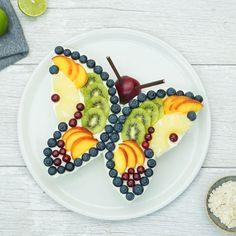 Food Design, Baby Food Recipes, Dessert Recipes, Desserts, Cute Food, Good Food, Fruit Cookies, Food Art For Kids, Creative Food Art
