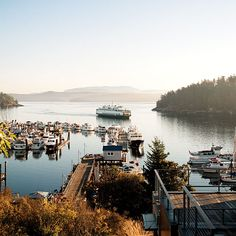 orcas island, wa.  Been here once, but would love to go back for a much longer visit.