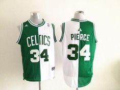 880435258c2 Celtics Paul Pierce Green/White Split Fashion Stitched NBA Jersey Kingdom  of cheap Jerseys
