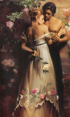 Bilderesultat for Victoria Alexander illustrations Romance Arte, Fantasy Romance, Couple Romance, Romance And Love, Romance Novel Covers, Romance Novels, Historical Romance Books, Romantic Paintings, Art Populaire