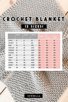 Free pattern for the crochet seedling blanket, a textured heirloom style blanket with easy construction, a video tutorial, and 12 sizes! Crochet Granny Square Afghan, Crochet Triangle, Dishcloth Crochet, Crochet Mandala, Crochet Afghans, Double Crochet, Crochet Baby Blanket Sizes, Crochet Blanket Patterns, Crochet Blanket Tutorial