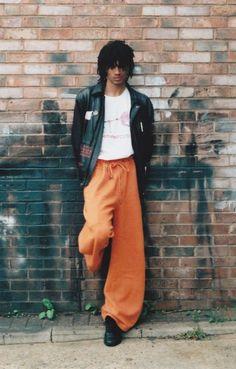 Stone-Inspired Menswear : black menswear