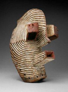 Democratic Republic of Congo - Songye Kifwebe Mask