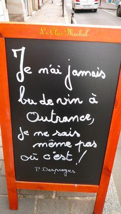 Panneau du mois de Juillet du Clos Michel..