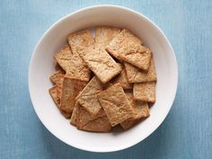 Taste Test: Healthier Crackers