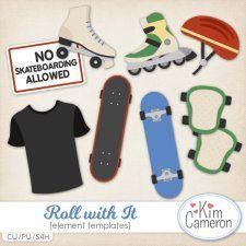 Roll with It Templates #CUdigitals cudigitals.comcu commercialdigitalscrapscrapbookgraphics #digiscrap