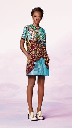 Ethnic Fusion --- Bloom Vlisco #Kente #Ankara #Africanfashion #Nigerianfashion #Ghanaianfashion #Kenyanfashion #Burundifashion #senegalesefashion #Swahilifashion ~DK