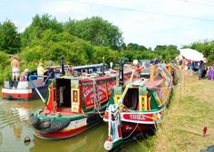 Leighton Linslade Canal Festival July 2013