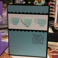 Tea for two Stampin Up!