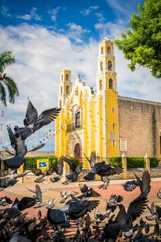 Church in Merida, Mexico