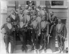 Title: Law graduating class at Howard University, Washington, D.C.  Date Created/Published: [ca. 1900]