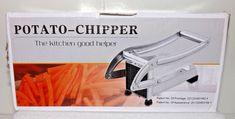 Stainless Steel French Fry Cutter Potato Vegetable Slicer Chopper 2 Blades   #Unbranded #Modern