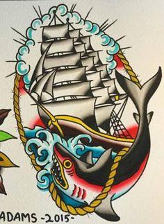 Traditional Tattoo Stencils, Traditional Nautical Tattoo, Traditional Bear Tattoo, Traditional Tattoo Old School, Traditional Tattoo Design, Traditional Tattoo Flash, Ankle Tattoos, White Tattoos, Tiny Tattoo