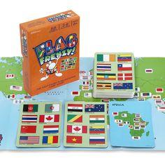 Fotografie Geo puzzle Hra Vlajky
