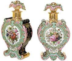 Jacob Petit aka  Jacob Mardochée  (1797-   1868)  Paris Porcelain  — Perfume Bottle (703x600)