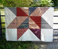 Sew and Sow Farm: A Patriotic Quilt.