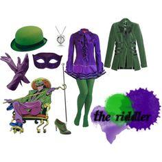 female riddler cosplay