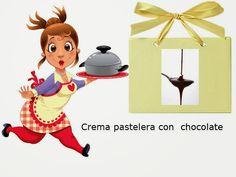Recetas-Muy variadas-Fáciles-Económicas: Crema pastelera con chocolate