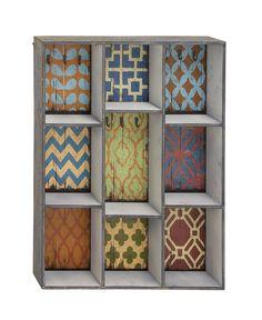 Unique And Multipurpose Stylish Wood Wall Shelf