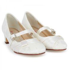 Rainbow Club Ivory Lace Delilah Shoes at alexandalexa.com
