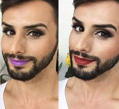 homem com maquiagem - Pesquisa Google