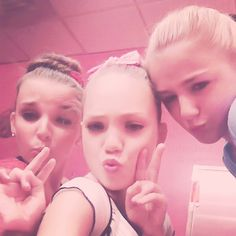 dance moms kendall maddie and chloe