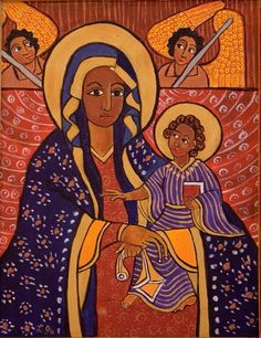 Laura James Religious Art (In Ethiopian Style)