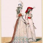 MORNING DRESSES, April 1794 from Gallery of Fashion vol 1