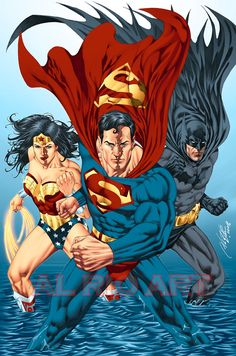Trinity:  Wonder Woman, Superman and Batman