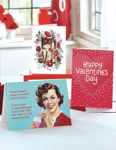 GENERAL VALENTINE'S CARDS by Design Design Perfect Relationship, Some People, Happy Valentines Day, Design Design, Cards, Maps, Playing Cards