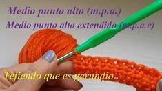 Contenido del canal - YouTube Studio Youtube, Crochet, Beginner Crochet, Easy Crafts, Tights, Crocheting, Dots, Tejidos, Ganchillo