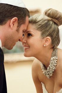 The wedding bun via hilary duff bridal weddinghair bridehair pamper hair to make it manageable and get that great wedding hairstyle junglespirit Gallery