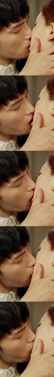 Triangle's kiss scene