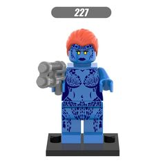 $0.71 (Buy here: https://alitems.com/g/1e8d114494ebda23ff8b16525dc3e8/?i=5&ulp=https%3A%2F%2Fwww.aliexpress.com%2Fitem%2FSingle-Sale-Marvel-Superhero-Raven-Mystique-Minifigures-Building-Blocks-X-Men-Model-Figures-Toys-Children-Kids%2F32706192207.html ) Single Sale Marvel Superhero Raven Mystique Minifigures Building Blocks X-Men Model Figures Toys Children Kids Gift Xmas Gift for just $0.71