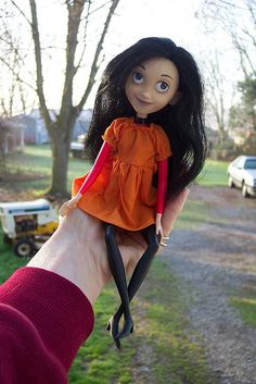 Violet from The Incredibles by Hujoos Rock, via Flickr