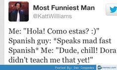 1000+ ideas about Funny Spanish Jokes on Pinterest | Funny ... Katt Williams Funny Tweets